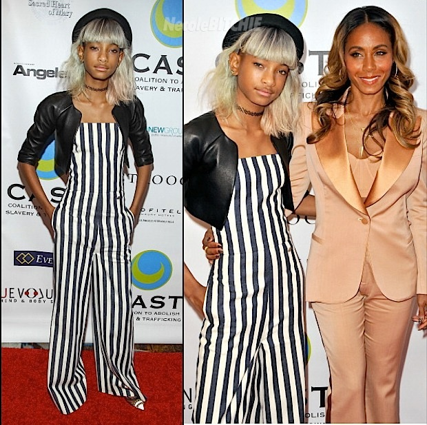 Two For One : Willow Gets White Strands, While Jada Goes With Exposed Roots Trend