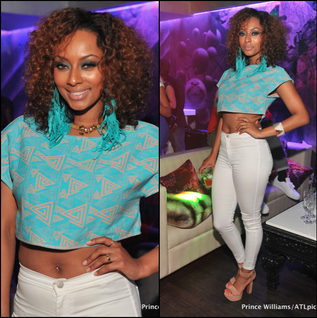 Keri Hilson Rocks A Head Full Of Curly Hair 3