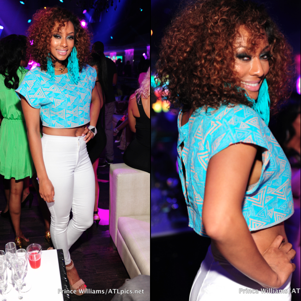 Keri Hilson Rocks A Head Full Of Curly Hair