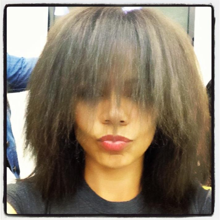 Sanaa Lathan Shows Off Her Natural Hair (Weave Free)