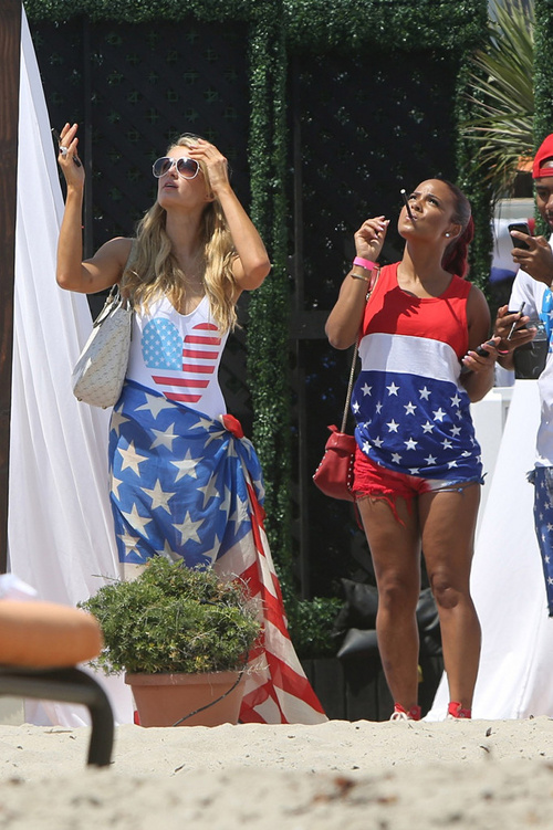 Black Celebrity Style - Celebs In Red, White and Blue Fashion (4th Of July Style Edition) 3
