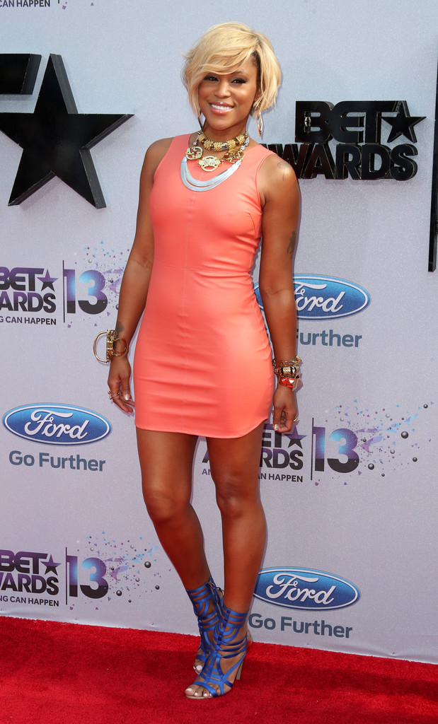 Eve Shows Off New Bob Haircut At The 2013 BET Awards 2