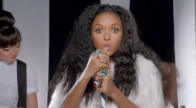Janelle Monae Shows Off Long Locks For Her for New Single 'Dance Apocalyptic'