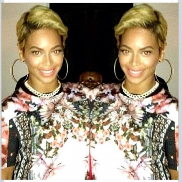 Beyonce Flaunts New Blonde Pixie Cut (Check Out Her New Short Haircut) 4