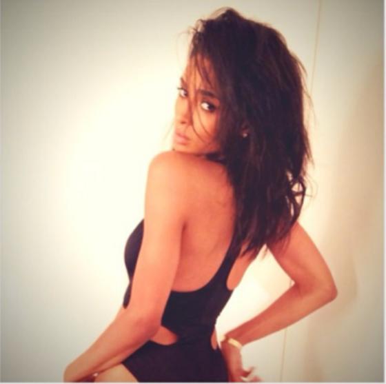 Ciara Goes Back To Black Locks 2