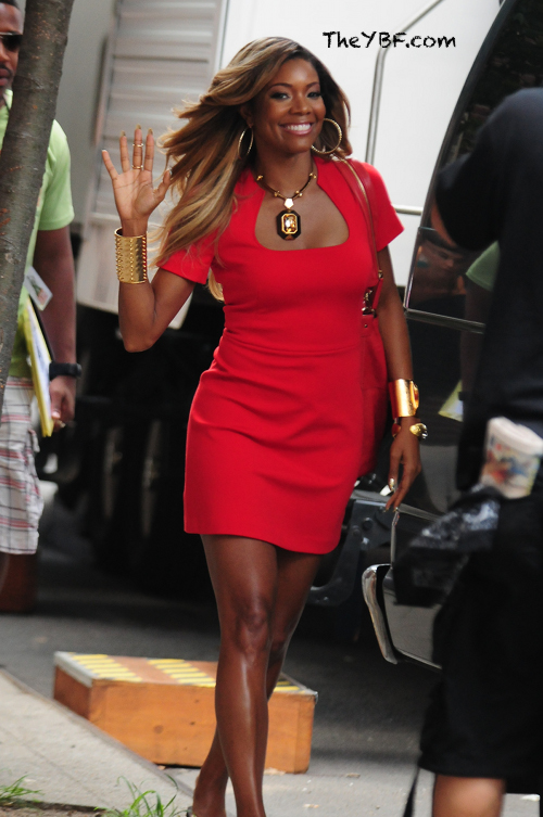 Gabrielle Union's New Blonde Hair Color 4