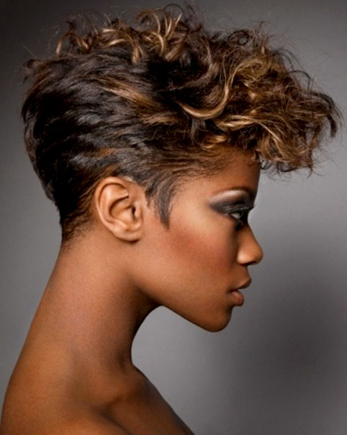2013 Homecoming Hairstyles for Black Women 6