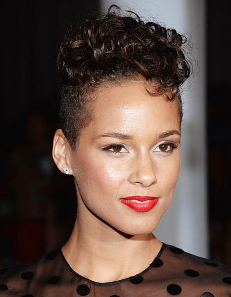 Alicia Keys's Frohawk Hairstyle