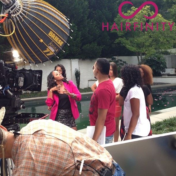 Keshia Knight Pulliam Is Named New Brand Ambassador for Hairfinity!!!