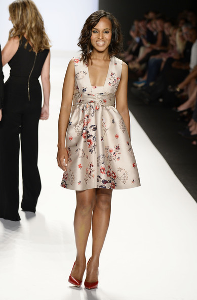 Pretty As A Picture, Kerry Washington In Printed Stella McCartney Dress