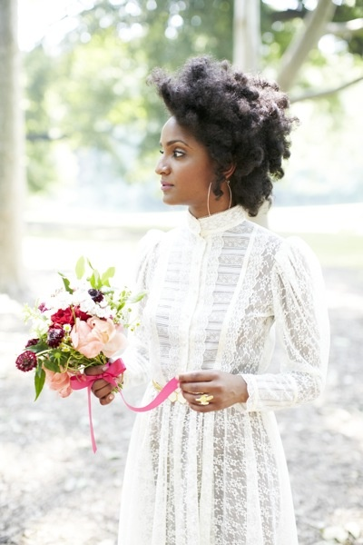 Black Natural Hairstyles For A Wedding : 2014 wedding hairstyles for black and african american women u2013 the