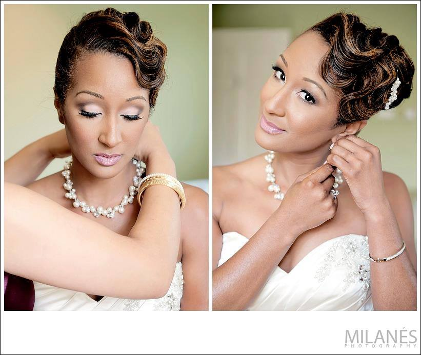 Wedding Hairstyles Photos: 2014 Wedding Hairstyles For Black And African American