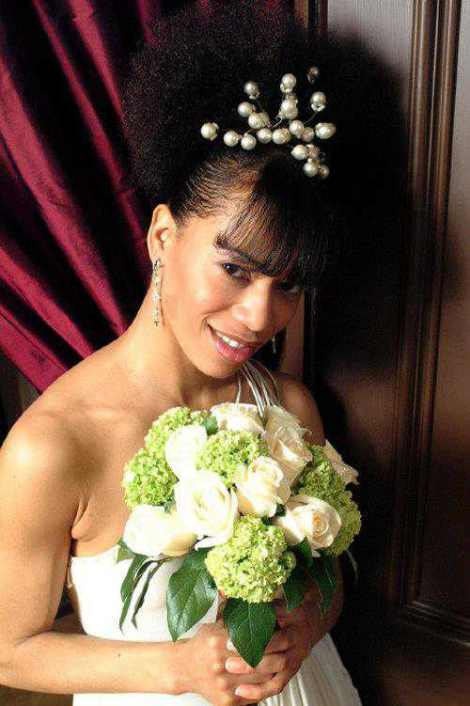 2014 Wedding Hairstyles For Black and African American Women 5