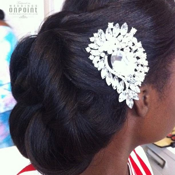 Hairstyles For Weddings Bridesmaid African American