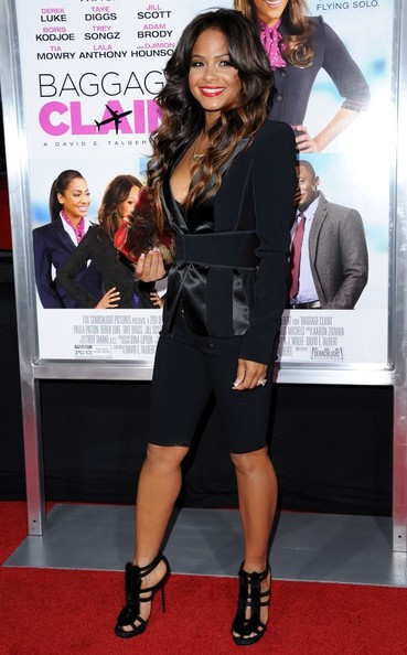 Christina Milian Loses The Red Hair and Goes Ombre 2