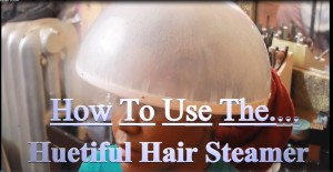 How I Use The Huetiful Hair Steamer