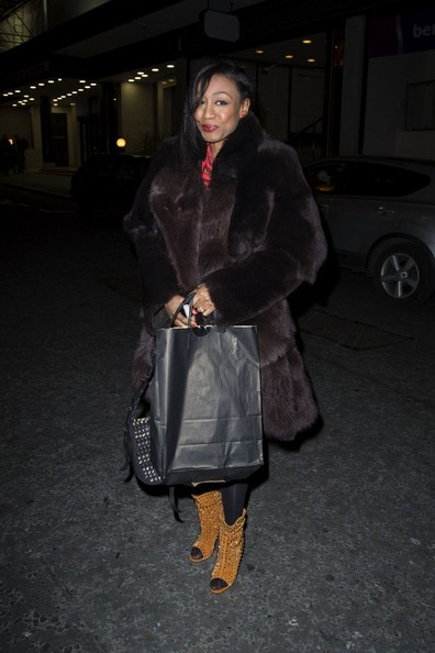 Ladies Rocking The Fur Coat Trend During The 2013 - 2014 8