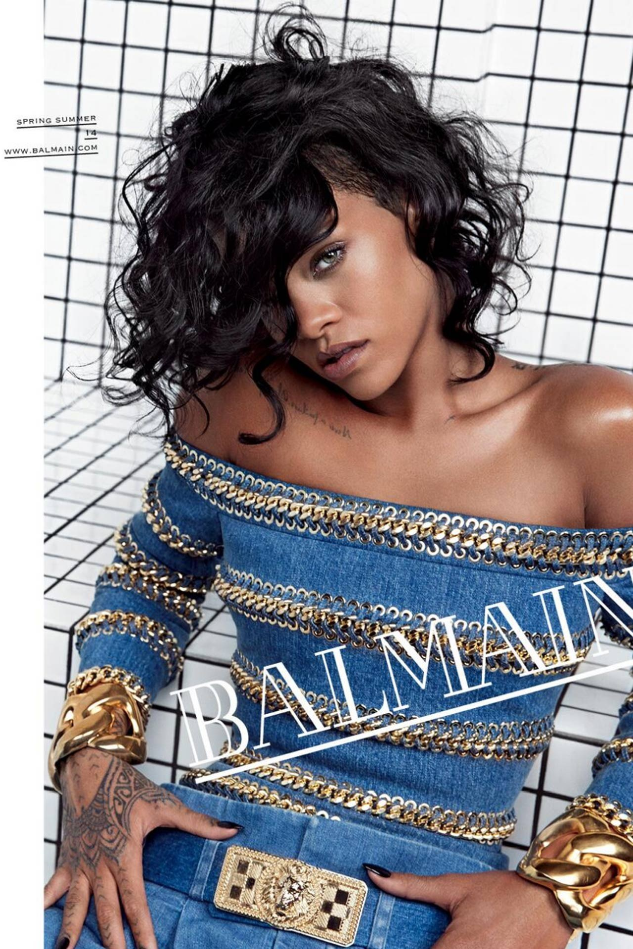 Rihanna Named New Face Of Balmain 2