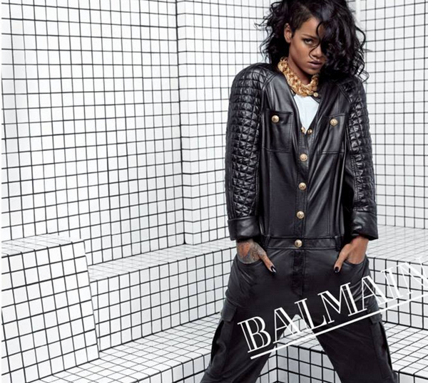 Rihanna's Shows Off Complete BALMAIN Spring Summer 2014 Campaign 3