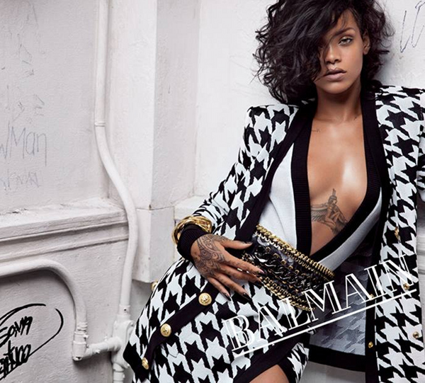 Rihanna's Shows Off Complete BALMAIN Spring Summer 2014 Campaign
