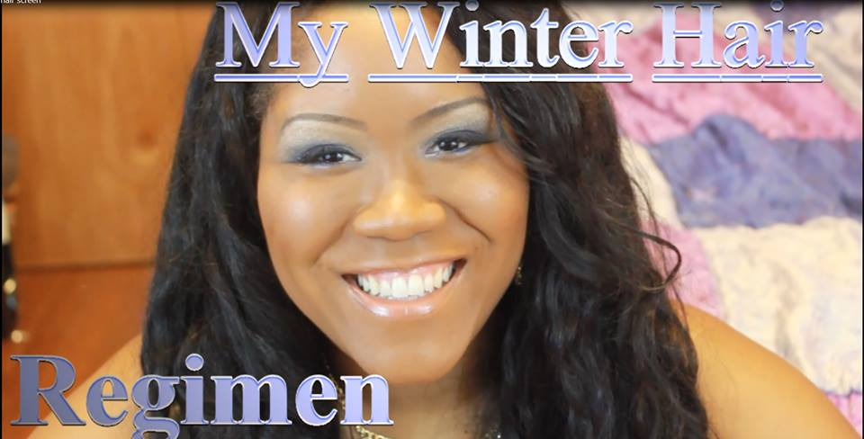 Winter Hair Regimen For Relaxed Texlaxed Hair - Tips For Keeping Hair Moisturized In The Winte