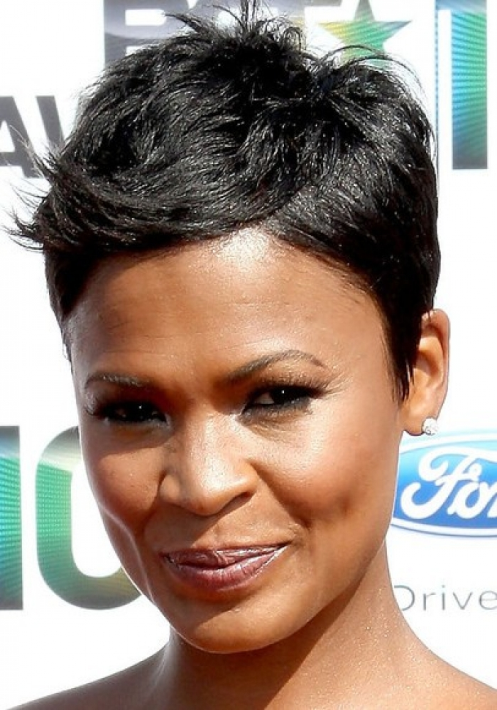 Pixie Haircut Ideas for Black Women 4