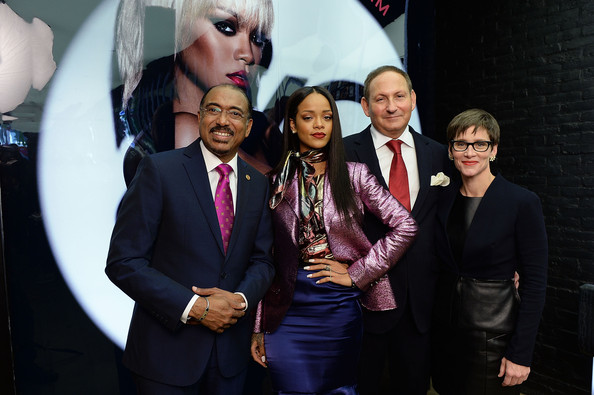 Rihanna Looked Fab At Her MAC Cosmetics Launch of Viva Glam 2