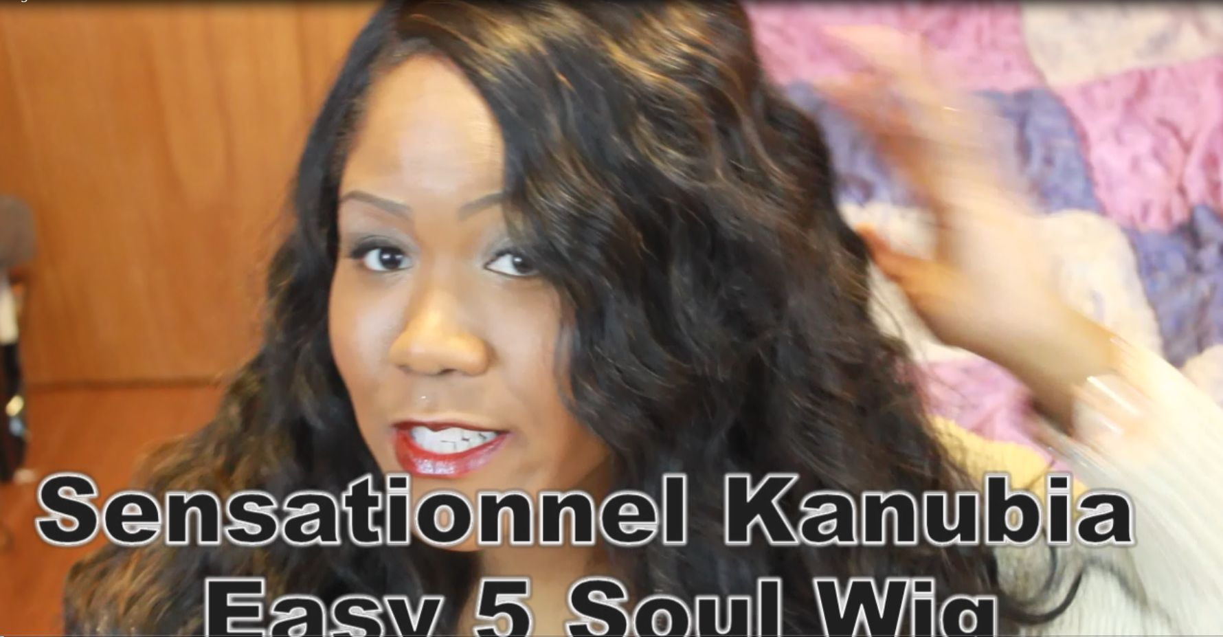 SENSATIONNEL Empress Lace Front Edge Kanubia EASY 5 SOUL Wig Review