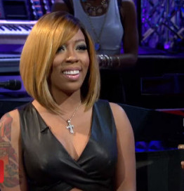 K.michelle Hairstyles 2014 Pics Photos - Draya Michele Gets Edgy New Bob Haircut The Style News ...
