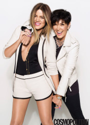 Khloe Kardashian Rocks The Cover of Cosmopolitan April 2014 3