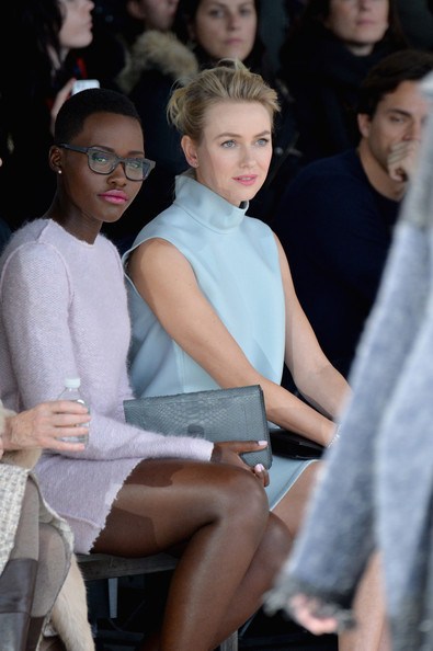 Lupita Nyong'o Looks Chic Sitting Front Row At Calvin Klein NYFW Show 3