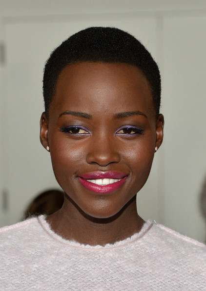Lupita Nyong'o Looks Chic Sitting Front Row At Calvin Klein NYFW Show 7