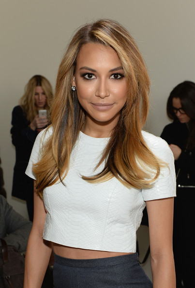Naya Rivera Goes Blonde