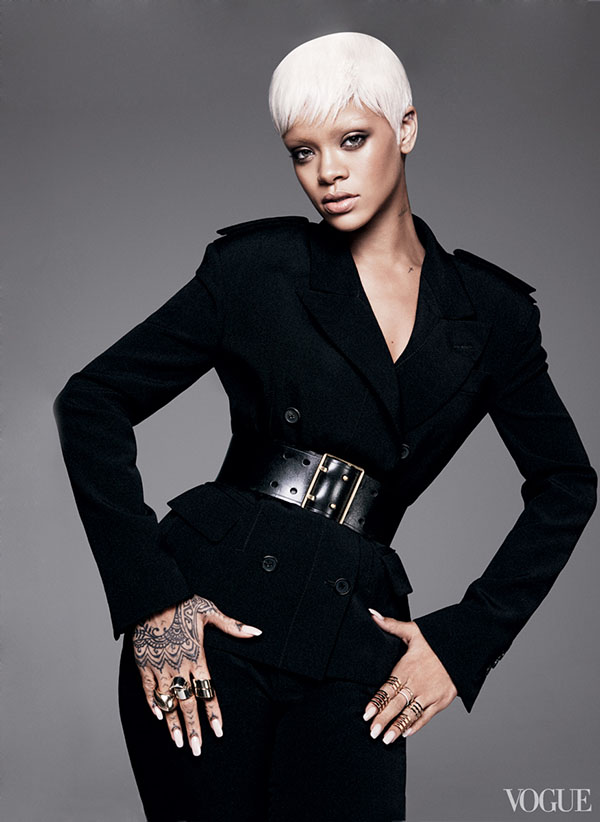 Rihanna Is Vogue's Cover Girl For March 2014 2