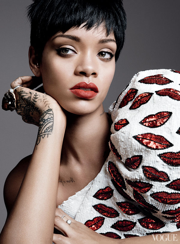 Rihanna Is Vogue's Cover Girl For March 2014 3