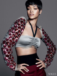 Rihanna Is Vogue's Cover Girl For March 2014 6