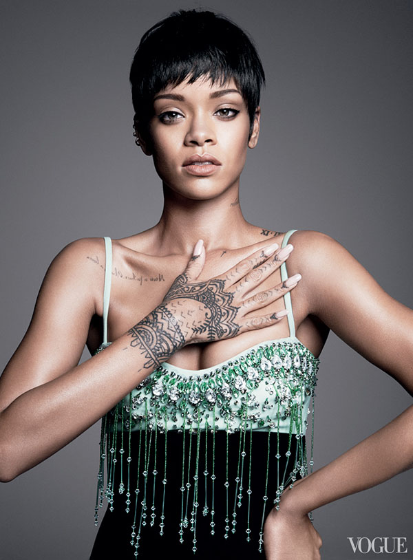 Rihanna Is Vogue's Cover Girl For March 2014 8