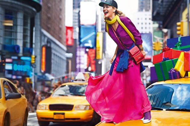 Rita Ora for DKNY Spring 2014 Campaign 2