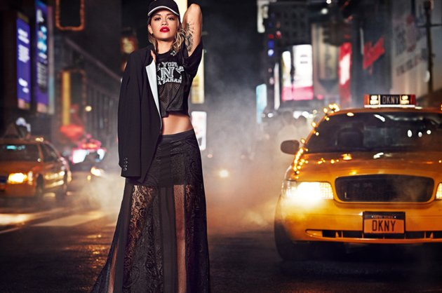 Rita Ora for DKNY Spring 2014 Campaign 5