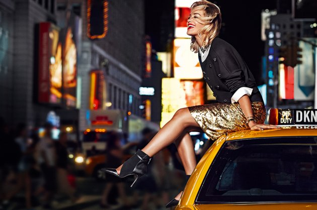 Rita Ora for DKNY Spring 2014 Campaign 7