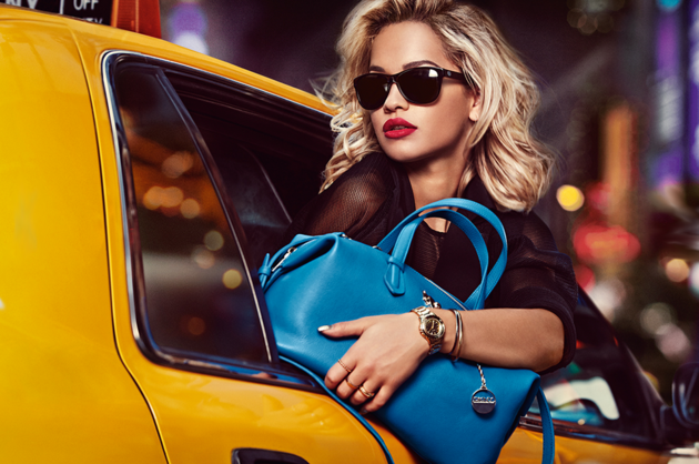 Rita Ora for DKNY Spring 2014 Campaign