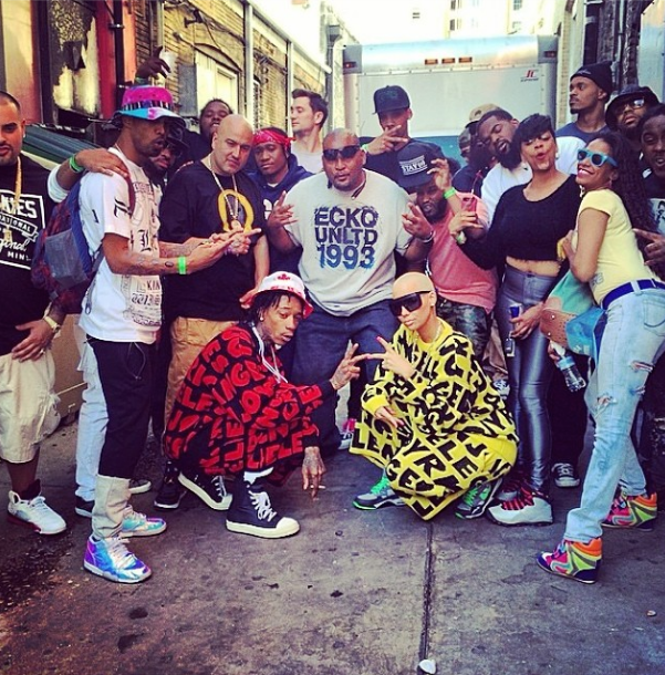 Amber Rose and Hubby Wiz Khalifa Show Some Swag At SXSW 5