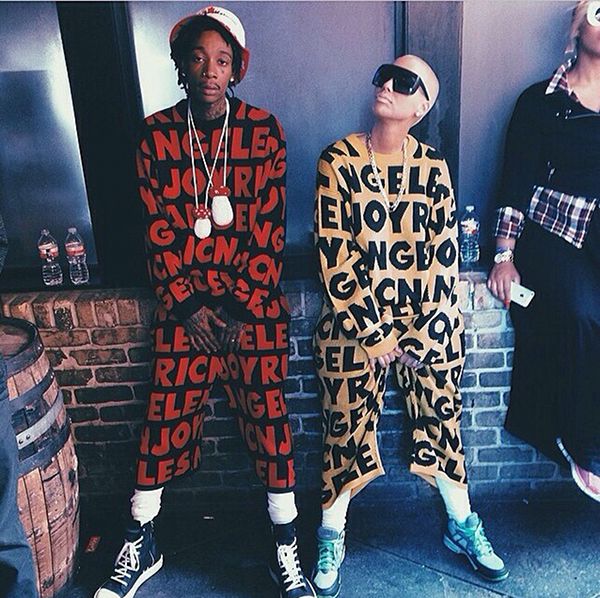 Amber Rose and Hubby Wiz Khalifa Show Some Swag At SXSW