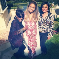 Ciara Has Fun Baby Shower With Gal Pals Kim Kardashian & La La 2