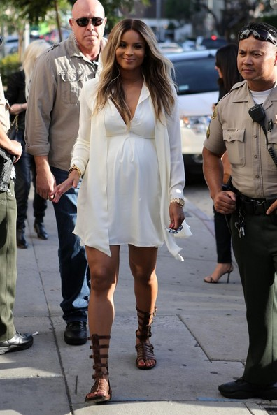 Ciara's Maternity Fashion Sense