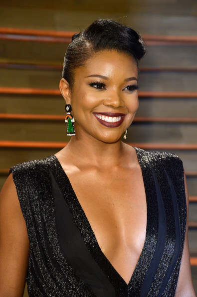 Gabrielle Union's Retro Vanity Fair Oscar Party Look 2