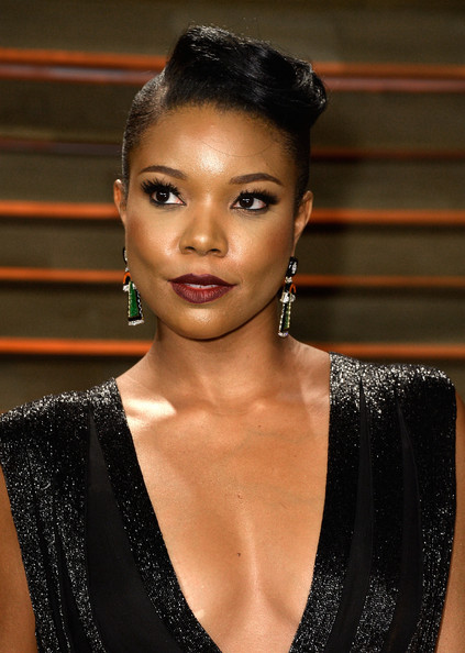 Gabrielle Union's Retro Vanity Fair Oscar Party Look 3