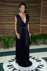 Gabrielle Union's Retro Vanity Fair Oscar Party Look 4
