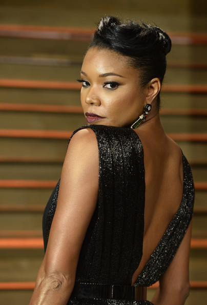 Gabrielle Union's Retro Vanity Fair Oscar Party Look 6