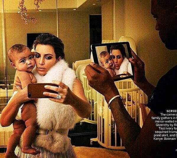 Kimye Reveal More Pics From Their Vogue April 2014 Issue 2